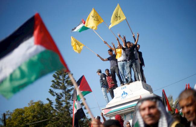 تظاهرات فلسطينية في غزة والضفة الغربية تطالب بريطانيا بالاعتذار عن وعد بلفور -