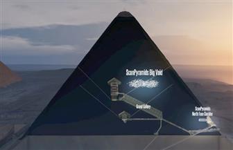 اكتشاف تجويف بحجم طائرة في هرم خوفو في مصر | صور
