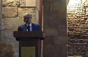 خمسة شعراء يلقون قصائدهم في أمسية ببيت الشعر العربي | صور