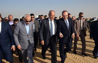 """محافظ بنى سويف يستعرض مشكلة الصرف الصناعي بـ """"بياض العرب"""""""