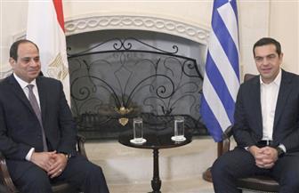 الرئيس السيسي ورئيس الوزراء اليوناني يعلنان 2018 عام الصداقة المصرية اليونانية