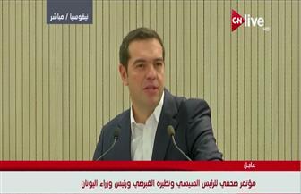 رئيس وزراء اليونان يشيد بدور مصر الرائد في حل القضية الفلسطينية