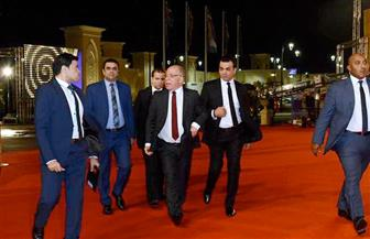 وصول وزير الثقافة لافتتاح مهرجان القاهرة السينمائي الدولي