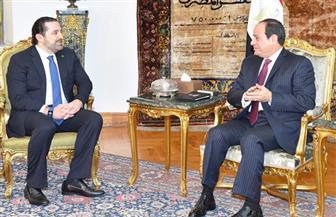 وسائل الإعلام العربية والدولية تبرز مباحثات الرئيس السيسي مع سعد الحريري بالقاهرة