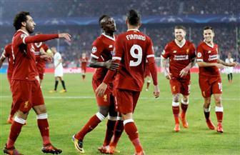 ليفربول يضرب إشبيليه بثلاثية في الشوط الأول بدوري الأبطال