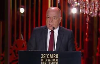 وزير الثقافة: مهرجان السينما عنوان لحضارة الوطن والإنسانية التي ترفض الإرهاب وتقاوم الظلام