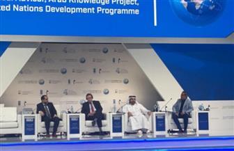 """""""حويرب"""" في """"قمة المعرفة"""" بدبي: العرب قادرون على المشاركة الفعالة في خدمة البشرية"""