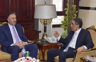 ضياء رشوان يستقبل وزير الإعلام الفلسطيني ويؤكد: الزيارة جسر جديد لتعزيز العلاقات التاريخية