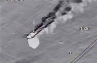 تفاصيل تدمير القوات الجوية ١٠ سيارات دفع رباعي محملة بأسلحة حاولت اختراق الحدود |  صور
