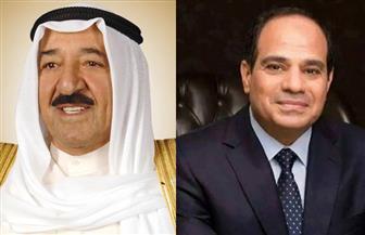 السيسي يتلقى اتصالا هاتفيا من أمير دولة الكويت