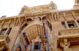مساعد وزير الآثار يتابع أعمال ترميم قصر البارون