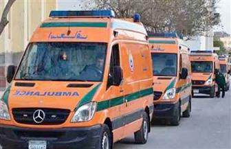 """""""الصحة"""": الدفع بـ16 سيارة إسعاف لموقع حادث قطار البدرشين.. وتخصيص 4 مستشفيات للإخلاء"""
