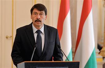 الرئيس المجري: لا يمكن مواجهة الإرهاب من دون مصر