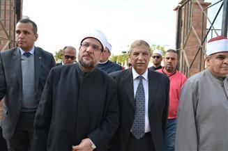 """وزير الأوقاف ومحافظا الإسماعيلية وشمال سيناء يزورون مصابي حادث """"الروضة"""" الإرهابي"""