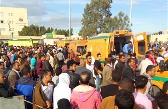 أداء صلاة الغائب علي أرواح شهداء حادث الروضة بالعديد من المساجد | فيديو