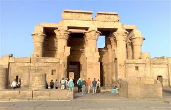 بعثات ألمانية - نمساوية - مصرية تشترك فى أعمال الحفائر بمعبد كوم أمبو ومقابر النبلاء فى أسوان