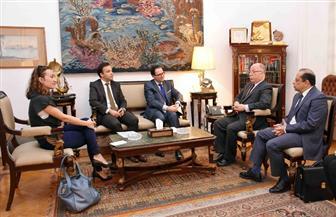 وزير الثقافة يطالب السفير الفرنسي بالحصول على نسخة من وثائق قناة السويس