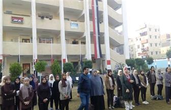 وكيل التعليم بالغربية يدشن حملة تبرعات لصالح أسر شهداء وضحايا مسجد الروضة | صور
