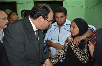 محافظ الدقهلية يُعزي أسرة مُسعف استشهد في هجوم الروضة بمسقط رأسه في مركز أجا