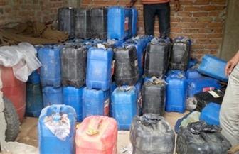 ضبط 81 قضية مواد بترولية وأسطوانات بوتاجاز في 4 أيام