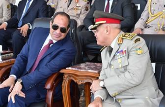 وزير الدفاع ورئيس الأركان يهنئان الرئيس السيسي بذكرى المولد النبوي الشريف