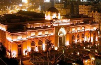 """""""مومياء الفيوم"""" تجذب أنظار 5 وزراء في احتفال المتحف المصري بـ115 عامًا على بنائه"""