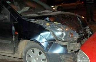 مصرع شخص وإصابة ٦ آخرين في حادث تصادم أعلى الدائري