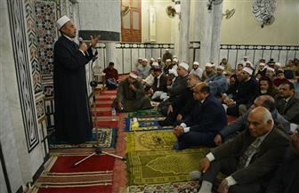 """""""أبوزيد"""" يحضر الاحتفال بذكرى المولد النبوي الشريف بمطروح"""