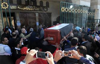 حضور فني وثقافي لتشييع جثمان الراحلة الفنانة شادية