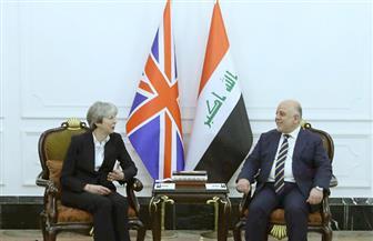 تيريزا ماي تصل بغداد في زيارة مفاجئة