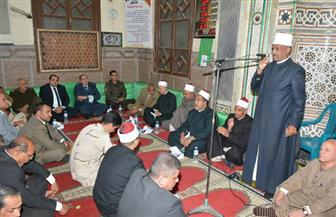 سوهاج تحيى احتفالاتها بالمولد النبوى الشريف من مسجد العارف بالله | صور