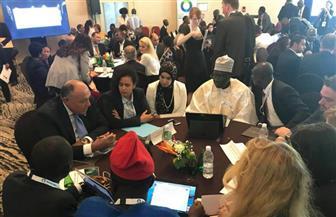 وزير الخارجية يطرح رؤية مصر تجاه القضايا ذات الأولوية للشباب في قمة الاتحادين الإفريقي والأوروبي
