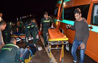 مصرع وإصابة ٦ أشخاص في حادث تصادم بدائري الرماية