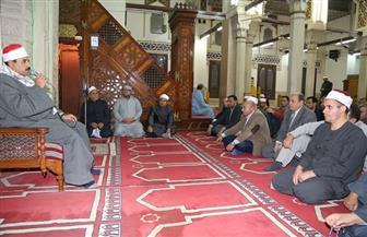 محافظ المنوفية يشهد الاحتفال بذكرى المولد النبوي الشريف بمسجد الأنصاري