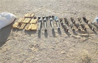 المتحدث العسكري: ضبط مخزن مقذوفات مضادة للدبابات وتدمير 3 أوكار للعناصر التكفيرية