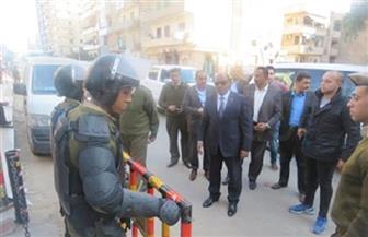 جولات ميدانية لمديري الأمن لتفقد المواقع الشرطية والمنشآت الحيوية | صور