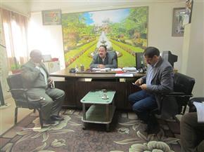 """رئيس مركز """" بسيون"""" يُطالب بتكثيف أعمال مواجهة التعديات على الأراضي الزراعية   صور"""