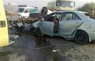 إصابة شخص في حادث تصادم بطريق (مليج - بركة السبع) بالمنوفية