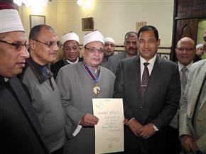 محافظ الغربية يهنئ وكيل وزارة الأوقاف الأسبق لحصوله على وسام الجمهورية | صور