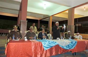 مدير أمن كفر الشيخ يشهد الاحتفال بالمولد النبوي الشريف بإدارة قوات الأمن بالمحافظة | صور