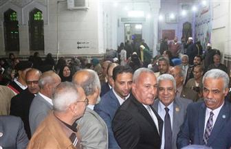 حضور حاشد لاحتفال المولد النبوي الشريف بمسجد الغريب بالسويس