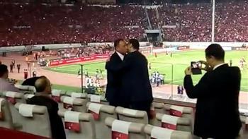 """سفير مصر بالمغرب: عناق """"طاهر"""" و""""الخطيب"""" يكشف قيمة وعراقة الأهلي"""
