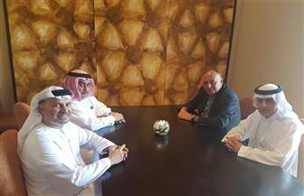 شكري يبحث مع وزراء خارجية السعودية والإمارات والبحرين تطورات الأزمة القطرية