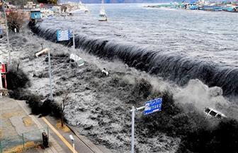 تسونامي يضرب شمال اليابان بعد زلزال بقوة 7.2 درجة على مقياس ريختر