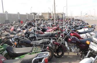 ضبط 2251 دراجة نارية مخالفة خلال أسبوع