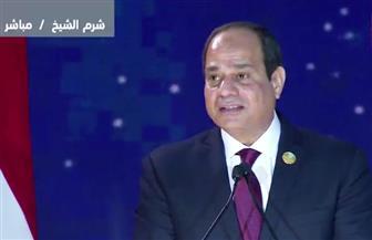 الرئيس السيسي: أجدادنا أرشدوا الإنسانية كلها لطريق الحضارة