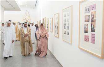 """حاكم الشارقة يفتتح معرض """"فنان العمل الواحد"""" للفنان الإماراتي الراحل حسن شريف / صور"""