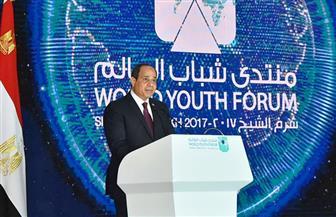 الرئيس السيسي: الاستقرار في المنطقة أمر مهم.. وحريصون على وحدة واستقرار لبنان