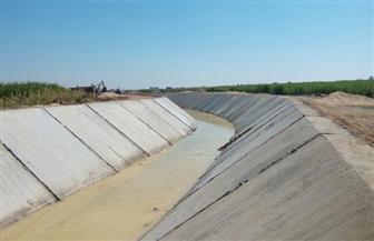 الإدارة المركزية لري أسوان تنفذ عددًا من مشروعات الحماية من أخطار السيول