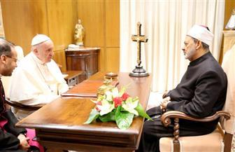 بابا الفاتيكان للإمام الأكبر: سأصلي ليمنحكم الله الصحة والعافية لتواصل العمل من أجل تعزيز الحوار والتعايش